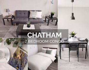 Furnished 2 Bedroom in Chatham (Utilities/Internet Included)