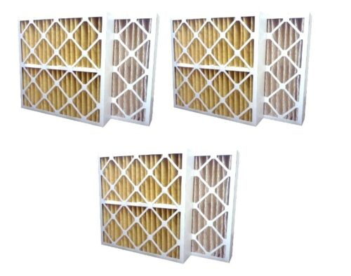 3 Pack High Quality Genuine MERV 11 Pleated Furnace Filters