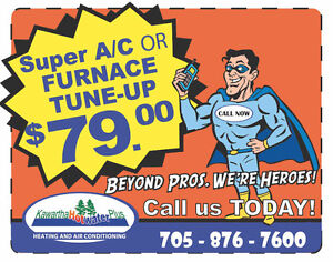 <<Furnace Cleaning Special Call Now - 21 Point Inspection >> Peterborough Peterborough Area image 1