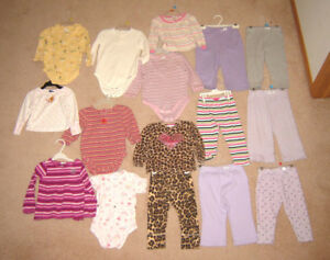 Girls Clothes - 18, 18-24, 24 mos, size 2 / Footwear size 5 to 8