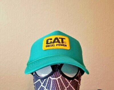 Cat And The Hat Hats (Caterpillar CAT Diesel Power Trucker Hat Cap not Vintage Smokey and the Bandit)