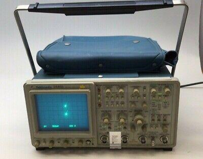 Tektronix 2445b Used Oscilloscope 4 Channel 200mhz