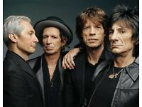 2 Rolling Stones Golden Circle Tickets Edinburgh
