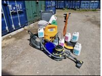 Carpet cleaning equipment- Ready to go