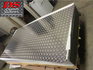 Aluminium Checker Plate 1.4mm/ 1.6mm / 2.0mm x 2400mm x 1200mm Campbellfield Hume Area Preview