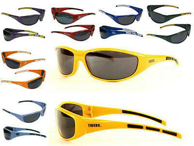 NCAA College 3-Dot Sports Wrap Sunglasses - Pick (College Sunglasses)
