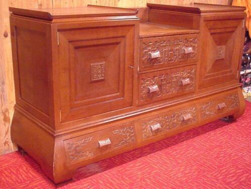 Klassiek art deco dressoir vintage dutch kast meubel for Marktplaats meubels