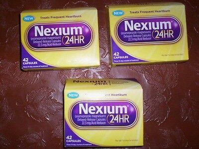 8 Boxes of  NEXIUM 24hr OTC 42 Count Each