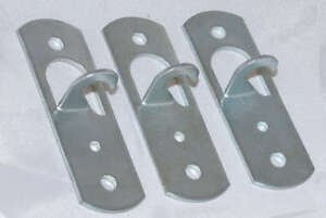 Three Metal Ceiling Hook for light fittings, Pendants, Shop displays etc,