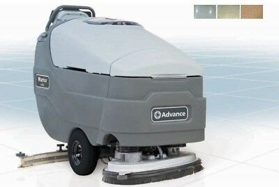 Advance Warrior St 32-d Walk-behind Automatic Floor Scrubber Cleaner W Charger