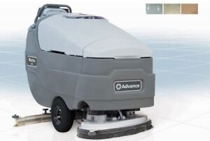 Walk Behind Floor Scrubber EBay - Floor scrubber rental miami