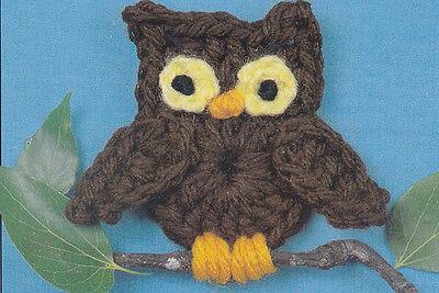 Шаблоны Crochet Pattern ~ OWL FRIDGIE