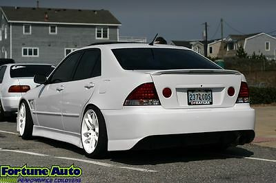 98-04 Lexus IS300 IS 300 Trunk Tail Lights Clear 99 00