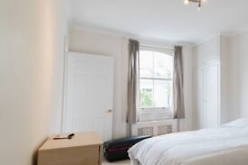 Charming room with chest of drawers in 4-bedroom flat, Westminster