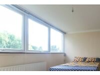 Bright room with double bed to rent in Brondesbury Park