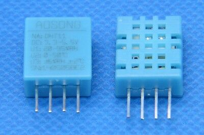 2pcs Dht11 Temperature And Relative Humidity Sensor Module For Arduino