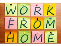 Full/Part Time HomeWorking Opportunity