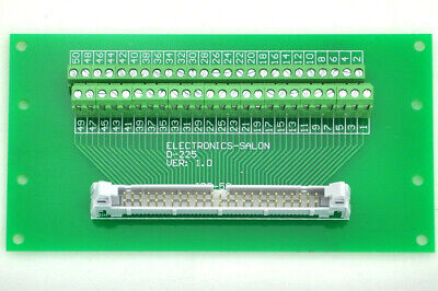 Idc50 2x25 Pins 0.1 Male Header Breakout Board Terminal Block Connector.