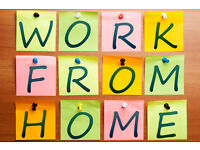 Part/Full Time Home Working Opportunity