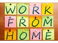 Full/Part Time HomeWorking Opportunity - Flexible Hours