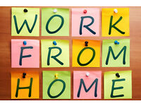 Full / Part Time Home Working Opportunity