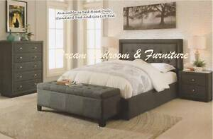 SPECIAL - MUST GO new QUEEN KING upholstered beds, CERTEGY ezipay Bundall Gold Coast City Preview