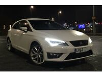 SEAT Leon FR 1.4, 3Dr Sports Coupe (Tech Pack) - Full Service History