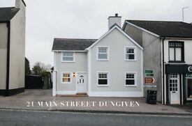 3 bedroom house to let in Dungiven newly refurbished