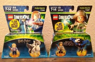 Lego 71348 71257   Lego Dimensions Harry Potter 2 Pack   Hermoine Grainger  Tina