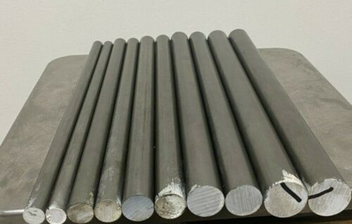 12L14 Steel Bar Stock Assortment 10 Round Bars See Description