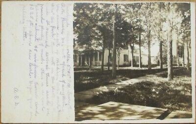 Delanson  Ny 1908 Realphoto Postcard   Residential View   New York