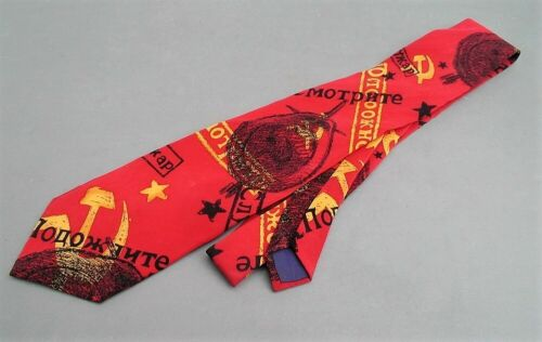 BEATLES 100% Silk USA Necktie > Back in the USSR