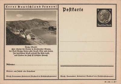 D.Reich Ganzsache P 236 ÜRZIG (MOSEL) ungebraucht  (43651)