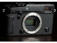 Fujifilm Xpro 2. With 3 batteries.
