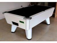 World Championship Supreme Winner Slate Bed Pool Table - Full Re-furb New Cloth Logo Option !!LOOK!!