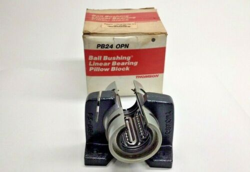 Thomson PB24-OPN Linear Bearing Pillow Block Bushing PB24OPN
