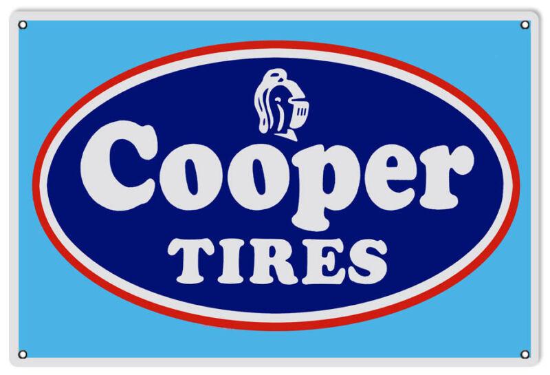 "Cooper Tires Sign 12""x18"""