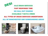 AtoZ DRAIN UNBLOCKING SERVICES < NO CALL OUT CHARGE! > < EXPERIENCED DRAIN SPECIALIST! >