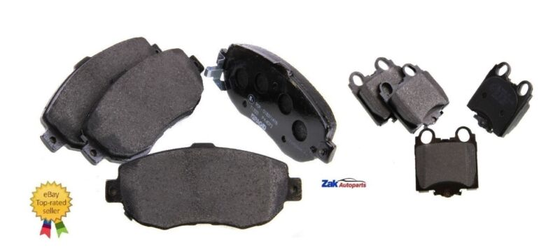 LEXUS IS200 IS300 2.0 3.0 FRONT AND REAR BRAKE DISC PADS SET