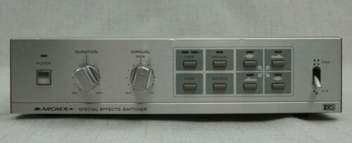 Archer Model 15-1274 Analog Video Special Effects Processor Switcher