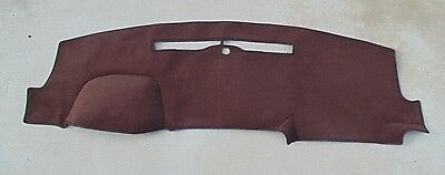 2014-2017 Chevrolet Silverado 1500 2500 3500 dash cover mat dashboard brown
