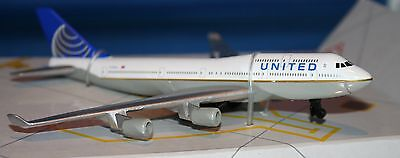 Realtoy United Airlines Continental Merger Livery Airplane Boeing 747 Mint