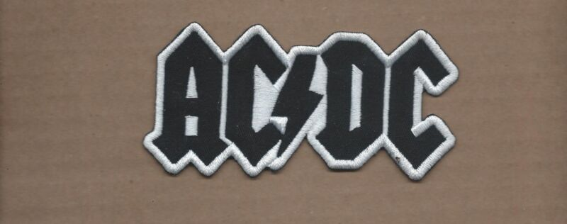 NEW 2 1/4 X 4 1/2 INCH AC/DC IRON ON PATCH FREE SHIPPING