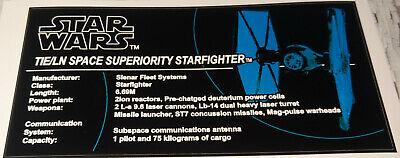 Moc Tie (Star Wars Sticker for LEGO® 75095 MOC First Order Tie Fighter Custom)