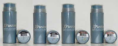 Xfusion Hair Fiber - XFusion Keratin Hair Fibers Black, Dark Brown, Medium Brown, Light Brown, Auburn