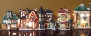 CHRISTMAS VILLAGES HOUSE COLLECTIONS