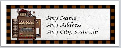 30 Personalized Return Address Labels Primitive Country Buy 3 Get 1 Free C 922