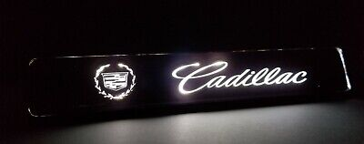 1PCS CADILLAC LED Logo Light Car For Front Grille Badge Illuminated Decal