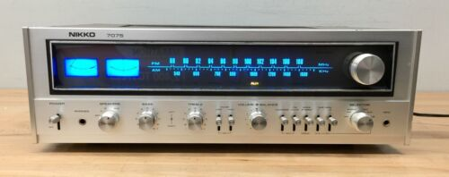 Nikko 7075 Stereo Receiver - Tested, Working.  LED