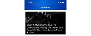 Slash, Myles Kennedy and the Conspirators tickets